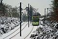 Tram on the Addington Hills, Croydon - geograph.org.uk - 2201804.jpg