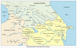 Khanates of the Caucasus Various Persian states in the Caucasus region from the 17th to 20th centuries