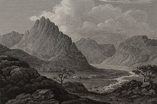 Trevaen (Tryfan) & Part Of Llyn Ogwen