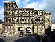 Die römische Porta Nigra in Trier