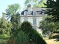Troisvilles (Pyr-Atl, Fr) Aperçu du château d'Elicabia dans son parc.JPG