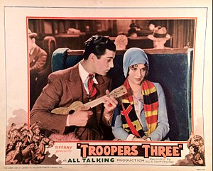 Troopers Three - Lobby card