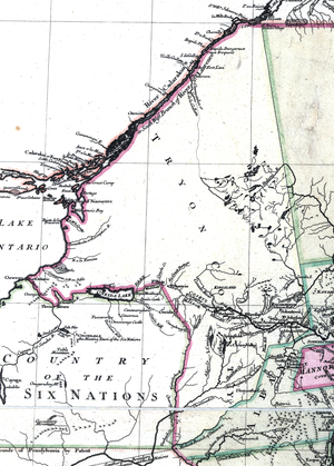 Tryon County, New York - Tryon County in 1777