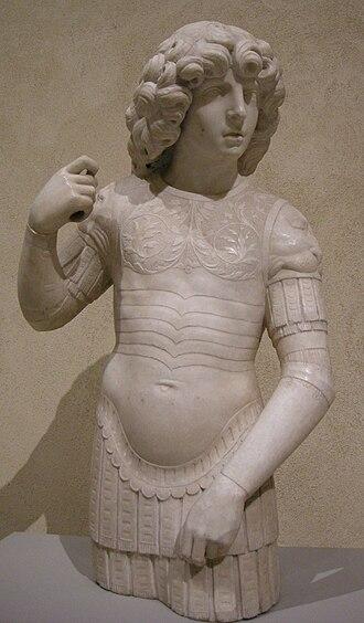 Tullio Lombardo - Image: Tullio lombardo, giovane guerriero, inizio del cinquecento