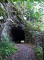 Tunel ve skále pod Bredovým mlýnem (01).jpg