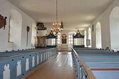 Turku Castle Church, towards altar.JPG