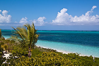 Providenciales Island in Turks and Caicos Islands