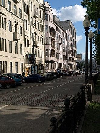 Tverskoy Boulevard - Tverskoy Boulevard