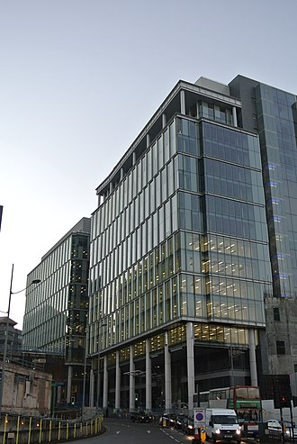 Snowhill - Two Snowhill in the foreground as looking from St.Chads circus, One Snowhill behind