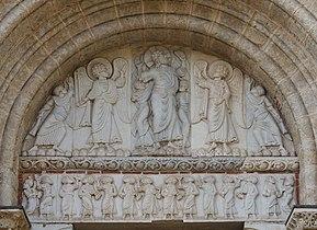 Tympan - Porte Miégeville - Basilique Saint-Sernin