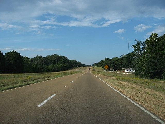 U.S. 61, South of Natchez, Mississippi cc Ken Lund