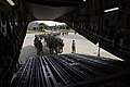 U.S. Army paratroopers assigned to the 82nd Airborne Division line up as they prepare to board an Air Force C-17 Globemaster III aircraft assigned to the 8th Airlift Squadron June 27, 2013, before a mission as 130627-F-QA406-026.jpg