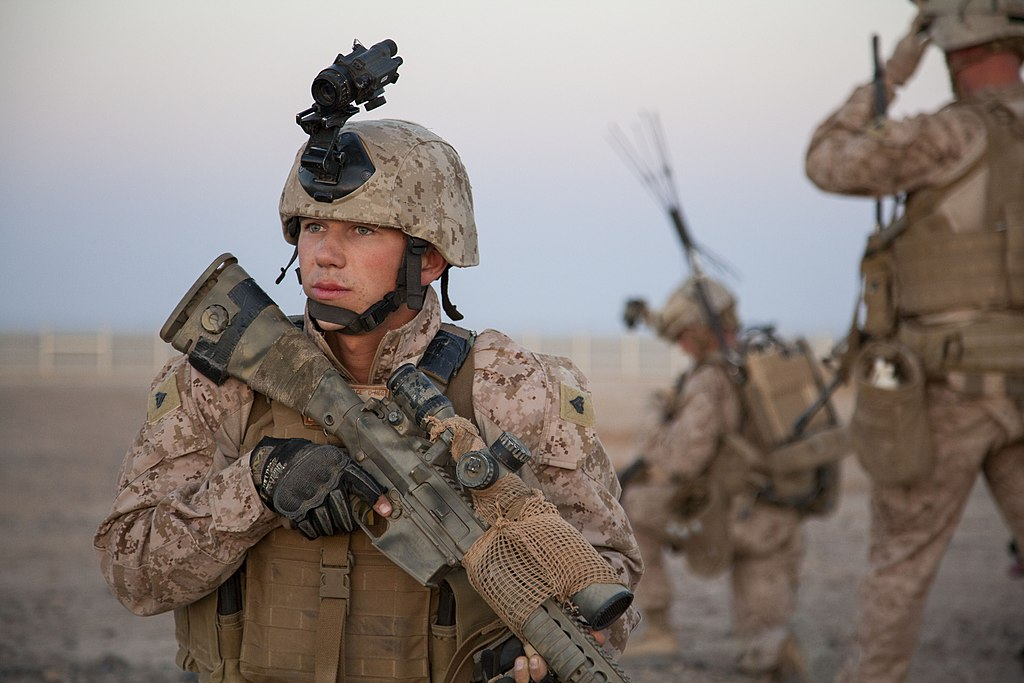 File:U.S. Marine Corps Cpl. Gaven Eier, a scout sniper with Fox ...