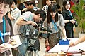 UBN TTV journalist at COSCUP 20110820.jpg