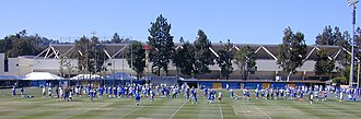 2008 UCLA Bruins football team -  Fall football practices at Spaulding Field