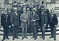 UK 1908 D-ro Mybs kaj D-ro Schramm kun la Dresdenaj policanoj kiuj parolis esperante.jpg