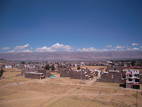 UPLA a view of Huancayo.jpg