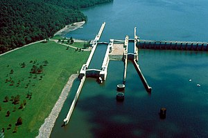 Guntersville Lake - Guntersville Lock and Dam