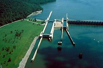 Guntersville Lake - Guntersville Lock and Dam