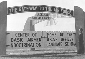 United States Air Force Basic Military Training - Lackland Air Force Base in 1948