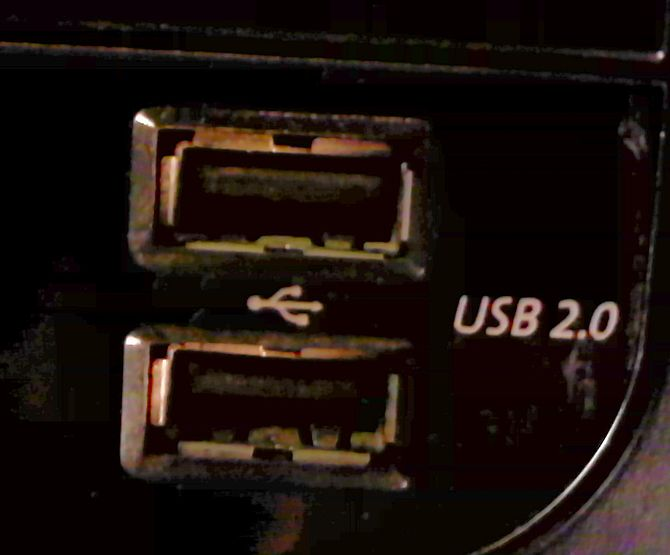 USB Port Connection