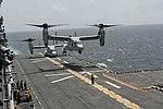 USS America conducts flight operations. (14799374853).jpg