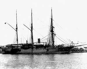 Pennsylvania Nautical School - Image: USS Annapolis (PG 10)
