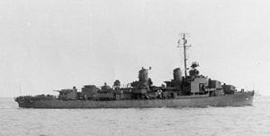 USS Bausell - USS Bausell (DD-845) in 1946.