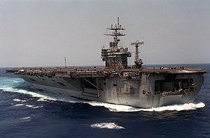 USS Eisenhower (CVN-69) running full speed reverse 1986.JPEG