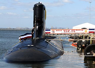 USS <i>New Mexico</i> (SSN-779) nuclear-powered attack submarine