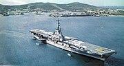 USS Wasp (CVS-18) at anchor 1958
