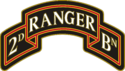 2nd Ranger Battalion Combat Service Identification Badge (CSIB)