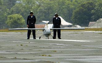 AAI RQ-2 Pioneer - An RQ-2B on the tarmac