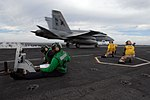 US Navy 071128-N-3659B-070 Shooters give the approval to launch an F-A-18C Hornet, assigned to the.jpg