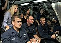 US Navy 101119-N-3560G-002 Friends and family of the attack submarine USS Cheyenne (SSN 773) crew observe submarine control operations during a dep.jpg