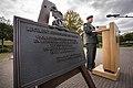 Uitreiking Bronzen Schild aan Regiment Geneeskundige Troepen 01.jpg