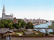 Ulm and its Cathedral 110 years ago