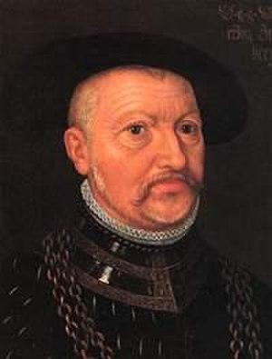 Ulrich, Duke of Württemberg - Portrait of Ulrich, Duke of Württemberg