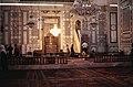 Umayyad Mosque, Damascus (دمشق), Syria - Minbar and mihrab in prayer hall - PHBZ024 2016 1387 - Dumbarton Oaks.jpg