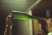 Undegorgierter Champagner