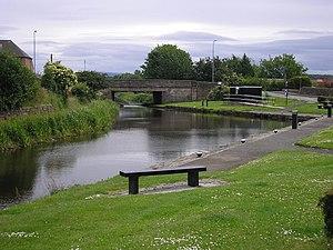 Broxburn - Image: Union Canal, Broxburn geograph.org.uk 862710