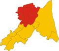 Unione dei comuni della Bassa Romagna-mappa comuni.png