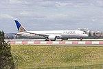 United Airlines (N36962) Boeing 787-9 Dreamliner departing Sydney Airport.jpg