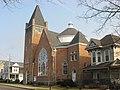 United Methodist Church, Mechanicsburg, dome.jpg