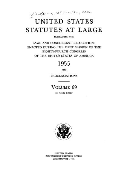 File:United States Statutes at Large Volume 69.djvu