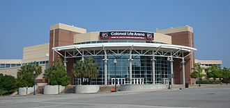 Colonial Life Arena - Image: University of South Carolina Colonial Life Arena
