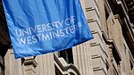 University of Westminster banner with logo
