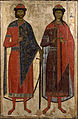 Unknow - St Boris and St Gleb - Google Art Project.jpg