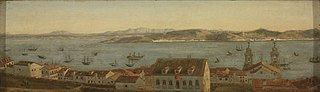 Entrance to the Harbor of Lisbon