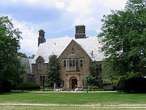 Upper Arlington, Ohio - One of the many historic homes in the Upper Arlington Historic District